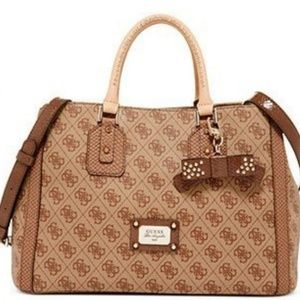 Guess Cheatin Heart Girlfriend Satchel & Wallet